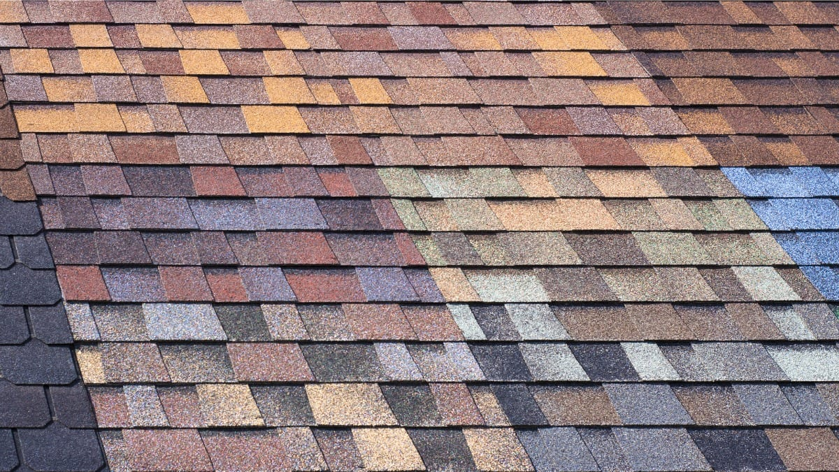 roof shingles colors
